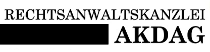 Rechtsanwaltskanzlei Akdag-Ünal - Rechtsanwältin Nebahat Akdag-Ünal - Logo